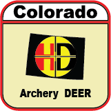 2020 Colorado Unit 3, 4, 5, 14, 214, 301, 441 Archery Mule Deer Tag UW