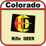 Colorado Unit 4/14/214/441 UW Mule Deer 2nd Rifle Season Unit Wide Tags
