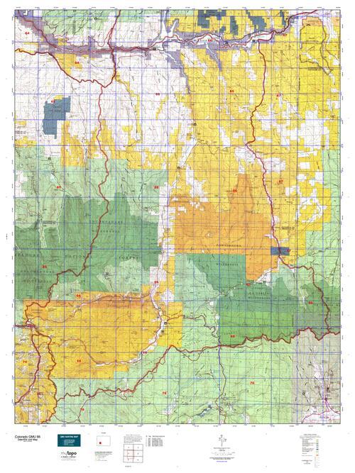 colorado unit 66 topo map