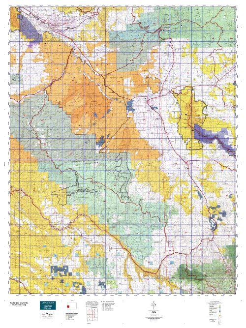 colorado unit 62 topo map